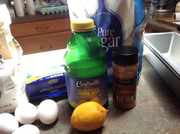 These are the remaining ingredients. I did not use the lemon zest, I used...