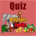 Guess the Name of Animals & Fruits icon