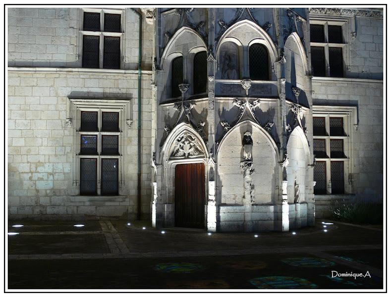 Photo: Les nuits lumière de Bourges. http://www.ville-bourges.fr/tourisme/nuits-lumiere-bourges.php