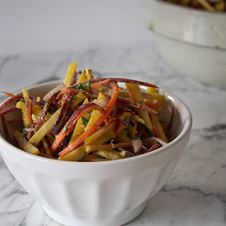 Golden Beet and Carrot Salad