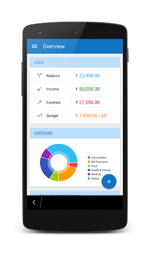 Expenger - A Finance Manager