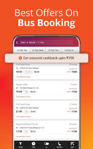 Cheap Flights, Hotel & Bus Booking App - ixigo screenshot 5