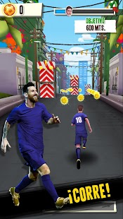Messi Runner Gira Mundial Screenshot