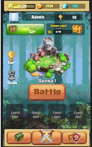 Code Triche Moba Heroes Arena APK MOD screenshots 2