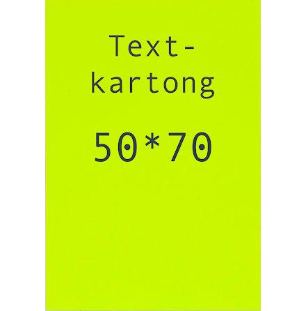 Kartong 50x70cm fl.gul  10/fp