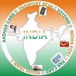 PAN- AADHAR-Bhulekh-Passport-Voter List-All in One Icon