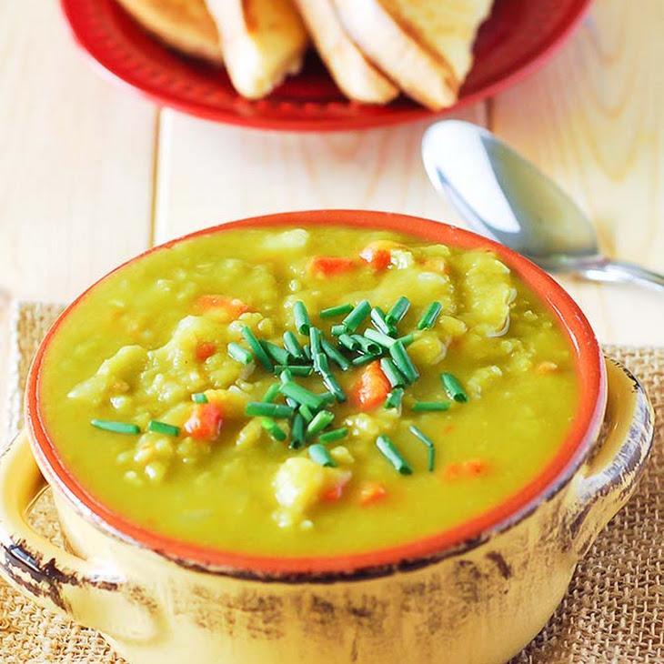 Split Pea Soup (Vegan) Recipe