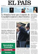 Photo: La Moncloa forzó que el marido de Cospedal renunciara al cargo en Red Eléctrica y el fugaz arresto de George Clooney en una protesta por Sudán, entre los temas de nuestra portada del sábado 17 de marzo.