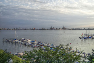Photo: Altefähr - Abend blick auf den Strelasund (HDR)