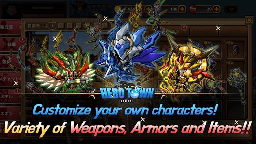 Heroes Town online : 2D MMORPG apktram screenshots 6