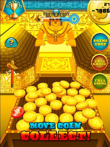 3D Pharaoh Treasure Coin