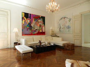 Luxembourg Gardens Apartment living area