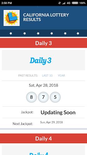 California Lottery Results App - Win CA Lottery APK 1 0