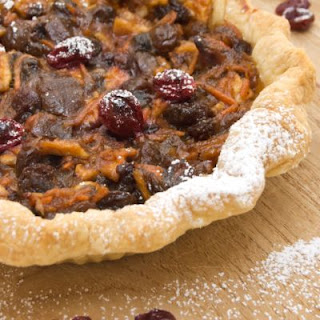 Copycat Trader Joe's Cranberry Walnut Tart