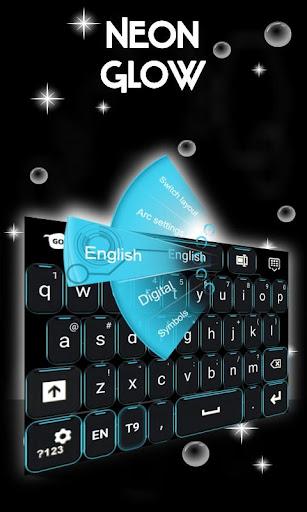 無料个人化AppのネオングローGOキーボード|記事Game