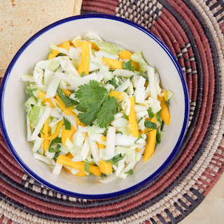 Mango Jicama Slaw (for Tacos And More)