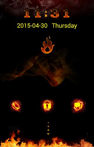 GO Locker Flames