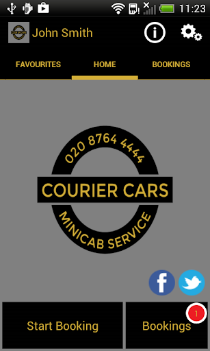 Courier Cars Minicab
