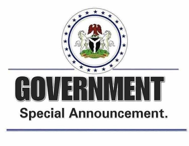 GOVERNMENT SPECIAL ANNOUNCEMENT: Statewide Sanitation to hold this Saturday