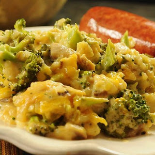 Broccoli-Rice Casserole (No Canned Soup).