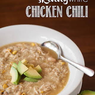 Skinny White Green Chile Chicken Chili.