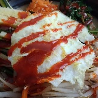 Vegetarian Bibimbap.