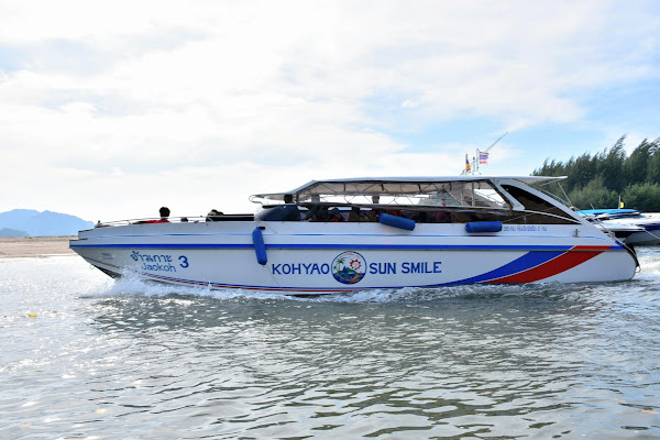 Travel from Ao Nang to Koh Yao Noi by speed boat