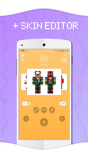 Skins for Minecraft PE by Crone (Google Play, United States