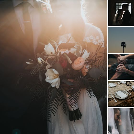 Bouquet Collage - Wedding Template