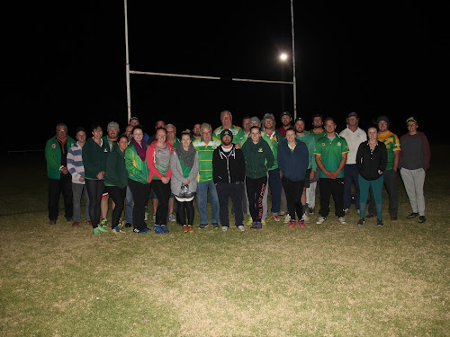 Boggabri players and officials with MS sufferer Jason Smith - Dan Jones, Nick Hobden, Melissa Kerr, Jason Kemp, Anthea Harris, Richard McPhillips, Andrew Seach, Ashlee Haire, Molly Dawson Jason Smith, Donny Madden, Cloe Davis, David Harris, Merv Sheridan, Nick de Groot, Greg Haire, Ben Haire, Sophie Hendrie, Jayde Campbelll, Jay Urquhart, Beau Dawson, Emma Lyons, Jacob Mallon, Jack Gillham, Matt Gillham, Mitch Campbell, Karlee Longworth, Andrew Cameron and Connor Hall.