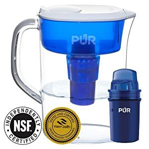 PUR FILTER FILTRATION SYSTEM WATER PITCHER