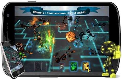 Magic : tournament of sci-fi- screenshot thumbnail