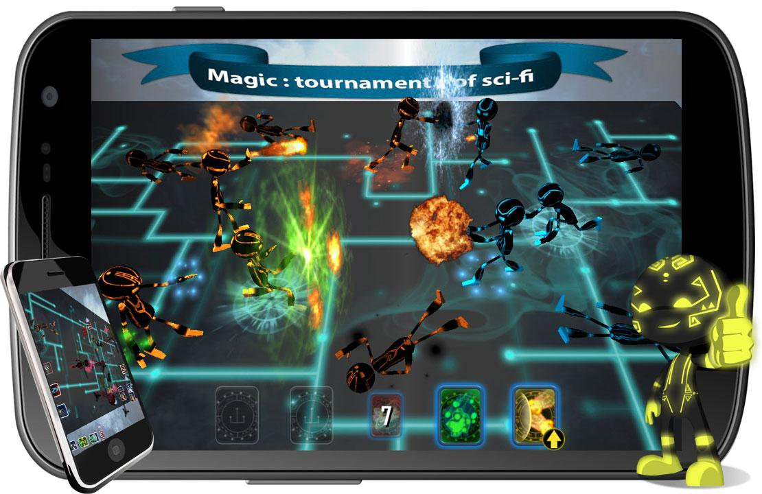 Magic : tournament of sci-fi- screenshot