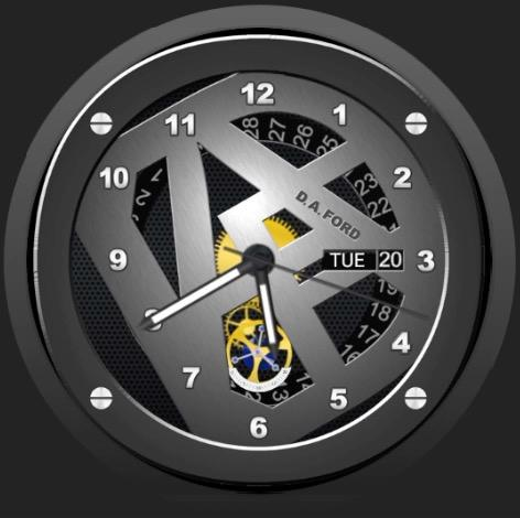 Million Dollar Watch Face- screenshot