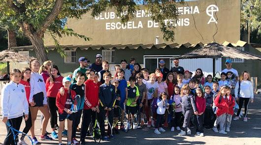 La Escuela del Club de Tenis Almería, un referente