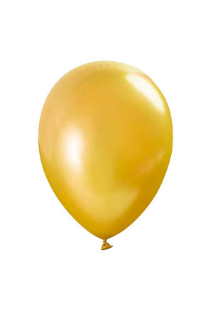 Ballong lösvikt metallic, Guld