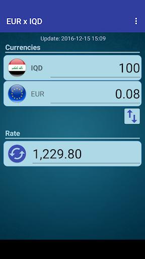 Euro X Iraqi Dinar