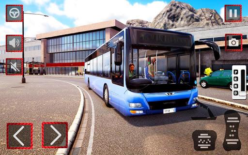 City Coach Bus Driving Simulator 3D: City Bus Game 1.0 screenshots 5