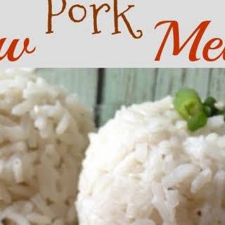 Pork Chow Mein.