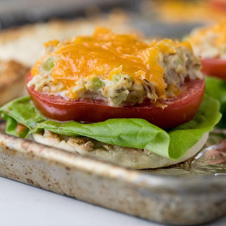 Sheet Pan Tuna Melt