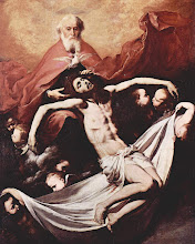 Photo: Title: Holy Trinity Artist: Jusepe de Ribera Medium: Oil on canvas Size: 226 × 118 cm Date: 1636 Location: Museo del Prado, Madrid. http://iconsandimagery.blogspot.com/2009_06_01_archive.html