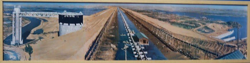 Photo: Photo of the dam under construction in the late 1930s.