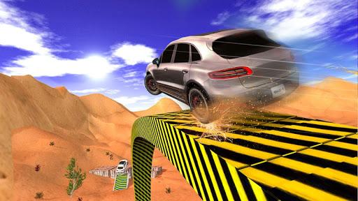 4X4 SUV Desert Jeep Driving Stunts Adventure 2018 screenshot 1
