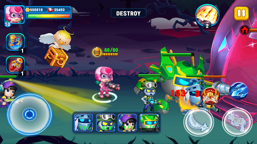 SuperHero Junior - Galaxy Wars Offline Game image | 11