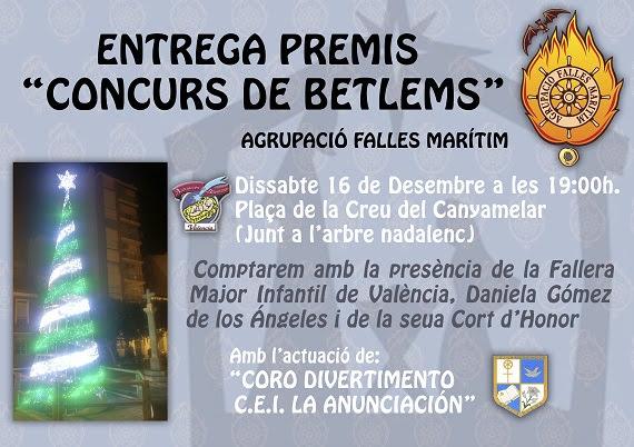 Premios Belenes 2017 Agrupación Fallas Marítimo.