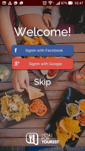 無料旅游AppのMenu for Tourist|記事Game