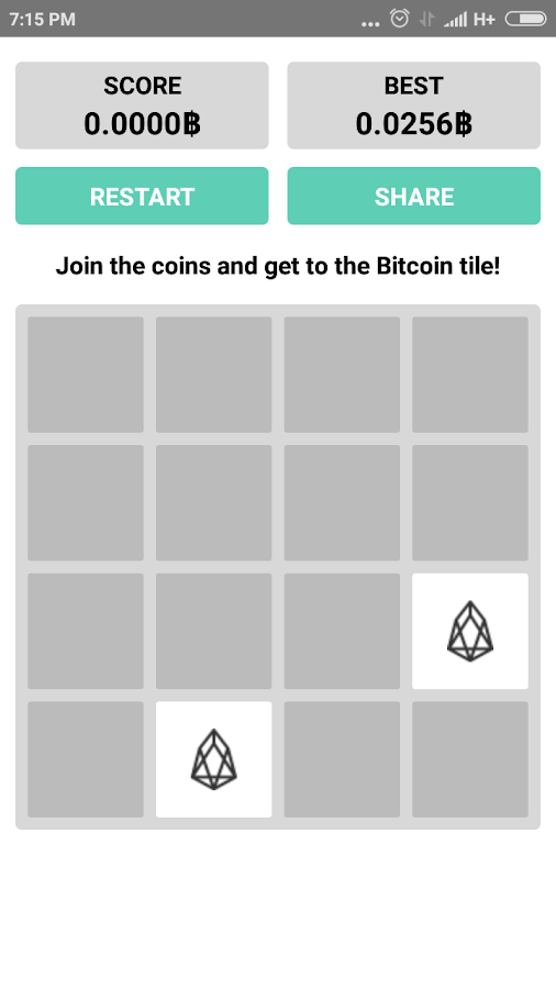 2048 Coins: Earn Bitcoins Puzzle