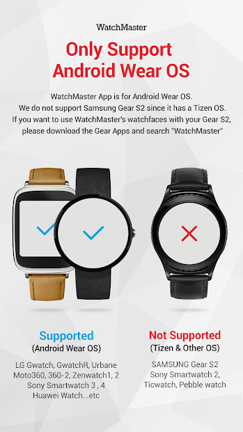 Dark Chic watchface by Liongate Android App Screenshot