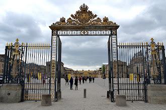 Photo: The gates to Versailles