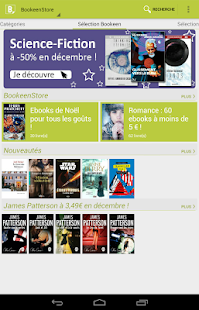 Bookeen Reader – Vignette de la capture d'écran